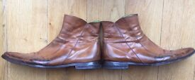 Oliver Sweeney Tan Boots UK13