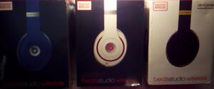 Beats Studio  Wireless White & Blue  Brand New  I Have For Sale