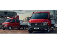 VW Crafter 'Engineered-To-Go' Dropsides & Tippers, order now, save £000s...