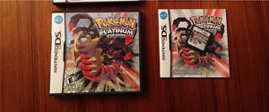 Pokémon platinum version for DS