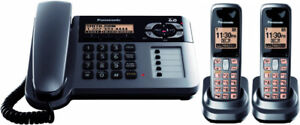 Panasonic KX-TG1062M Corded/Cordless Phone with Answering System