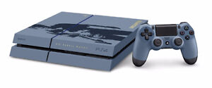Console PS4 500g Edition Special Uncharted 4   - Sous Garantie -