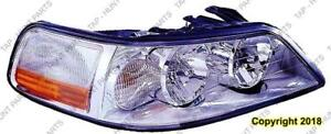 Head Light Passenger Side With Hid High Quality Lincoln Town Car  2003-2004