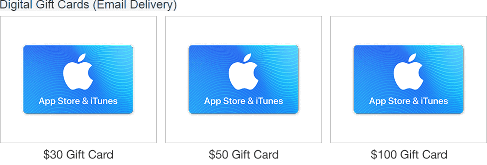 iTunes Gift Cards | eBay