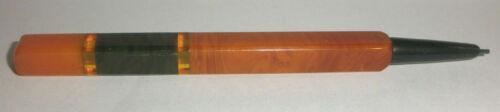 Great  Antique Art Deco bakelite butterscotch multi color mechanical pencil
