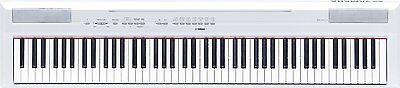 P-115WH 88-Key P115 White YAMAHA Digital Piano / P Series Electronic Keyboards comprar usado  Enviando para Brazil