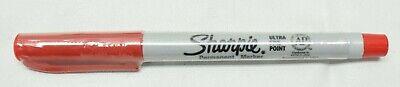 Sharpie Ultra Fine Point Permanent Marker Pen Ufn Red 12 Count
