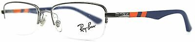 New Ray Ban KIDS RB1031 4011 Blue Orange Junior RX Prescription Eyeglasses (Kids Prescription Glasses)