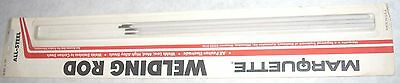 7 Marquette All Steel Stick Welding Rods 332 X 10 Electrodes 4pk Usa Made