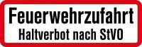 Signo De Robust 42 X 14cm Acceso Bomberos Prohibido Parar Al Stvo 307756/2 -  - ebay.es