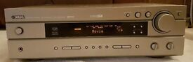 Yamaha 5.1 surround sound receiver and 6 speakers
