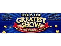 1x Premium Seat This is the Greatest Show Darlington Hippodrome 19:30pm Show