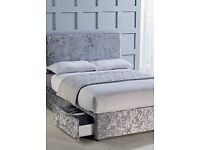 😍😍👌luxury velvet beds at affordable prices!!