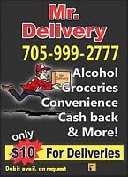 Management team required for delivery service.