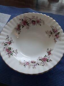 Royal Albert Lavender Rose Soup Bowls and Dessert Bowls