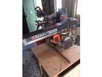 Used but very good Dewalt DW125 Radial arm saw.