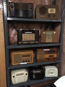 Large Selection of Antique Radios