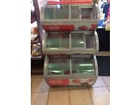 Wall's 3 three tier FREEZER used very good condition commercial freezer