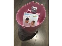 Angelcare Nappy Disposal Bin Pink / New and Unused