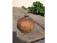 Small terracotta vase/pot for sale