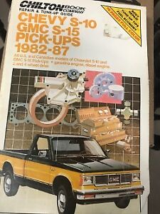 Chilton's Manual for Chev-GMC , S-10 & S-15 - 1982 to 87