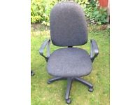 Two Office / Computer chairs in clean condition for sale. £22.00 for 2 or £15.00 for Each !!!!