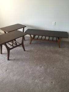 Matching set of three coffee tables