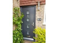 UPVC AND COMPOSITE EXTERIOR DOORS FULLY FITTED £699