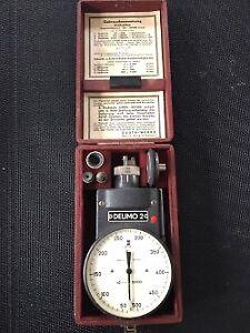 Tachymètre Vintage, DEUTA, Deumo 2, machiniste