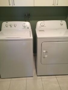 1 year old Washer and Dryer