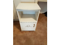 White Bebside Table / Cabinet (£15 o.n.o)