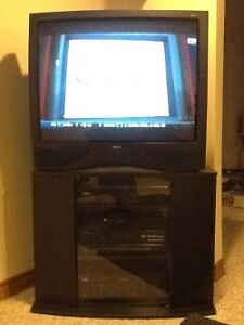 """36"""" RCA TV with stand Windsor Region Ontario image 1"""