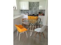 Glass Dining / Kitchen Table (Dwell)