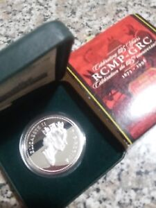 1998 Canadian Proof Silver dollar