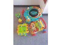 Baby toys + activity centre bundle