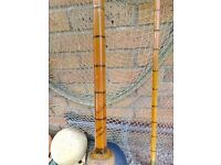 HARDY Palakona 10 ft, 2 piece spinning rod in reasonable condition with original bag