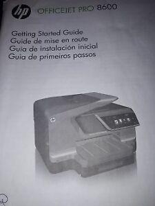 HP Officejet Pro 8600 e-Tout-en-Un