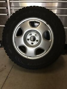 Acura RDX 2013 and up winter Toyo GSI-5 tires and rims with TPMS