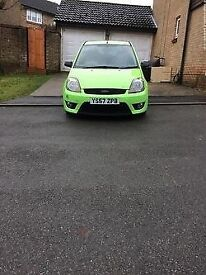 Ford Fiesta Zetec S 1.6 3dr Celebration Green