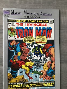 Iron Man #55 reprint-first Thanos appearance from 1972