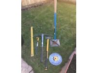 Gardening/landscaping equipment all new S16 - virtually everything needed to transform your garden