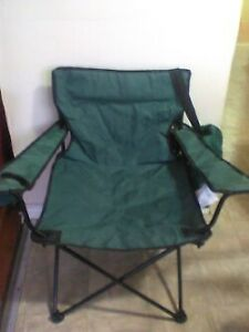 2 lawn chairs with bags