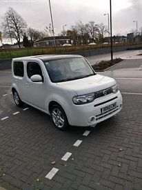 Nissan Cube 1.6, 5 door, Frost White, 1 Year MOT, Full Service History, Recent Valet, Full Electrics