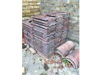 Reclaimed Roman Concrete roof tiles FREE