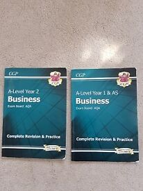 A-Level Business Books - Year 1 & 2 AQA - Good condition