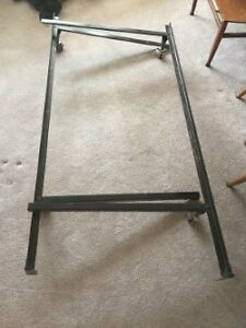 Double Bed Frame with castors
