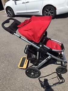 Uppababy Vista Stroller with accessories (good used condition)