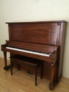 URGENT - PIANO DROIT SCHAEFFER À VENDRE - 350.00$ NEGO Saguenay Saguenay-Lac-Saint-Jean image 1