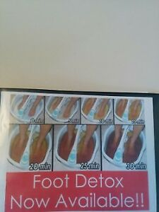 Foot Detox Treatment for body health on special.