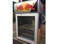 Red Bull Table Top Fridge